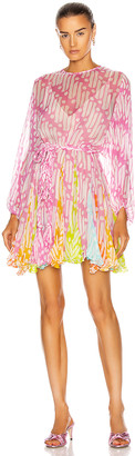 Rhode Resort Ella Dress in Pink Batik Multi | FWRD