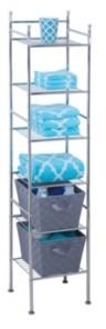 Honey-Can-Do 6-Tier Bathroom Storage Shelving Unit