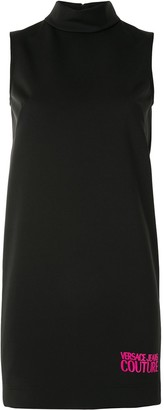 Versace Jeans Couture Logo Print Shift Dress
