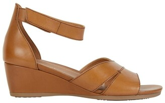 Wide Steps Martha Cognac Glove Sandal