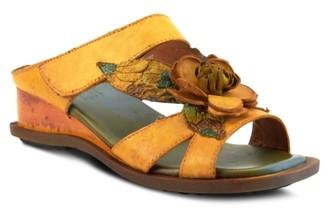 L'artiste By Spring Step Midtown Wedge Sandal