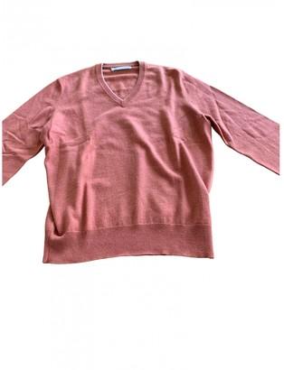 Brunello Cucinelli Pink Cashmere Knitwear