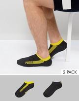 Puma 2 Pack Trainer Socks