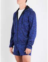 Versace Jacquard-print Shell Jacket
