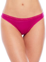 Passionata Lace Trim Thong