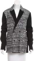 Viktor & Rolf Printed Double-Breasted Blazer w/ Tags