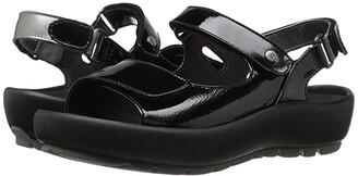 Wolky Rio (Multi Black Crash) Women's Sandals