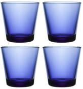 Iittala Set of 4 Kartio Glass Tumbler 16.2cm