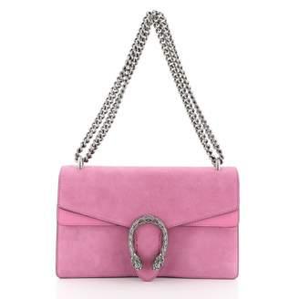 Gucci Dionysus Pink Suede Handbags