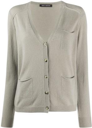 Iris von Arnim V-neck cashmere cardigan