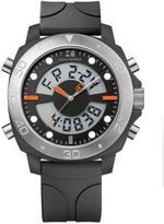HUGO BOSS Men's Stainless Steel and Plastic Watch
