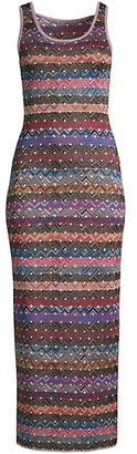 M Missoni Multi-Stripe Maxi Dress