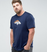 New Era Plus Nfl Denver Broncos T-shirt In Navy