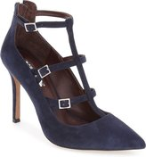 BCBGeneration TAMERRA Women Pointed Toe Suede Heels (WIDE),8.5
