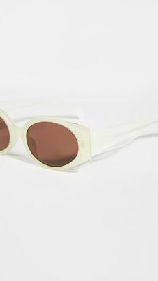 Linda Farrow Luxe Matthew Williamson x Linda Farrow Bluebe Sunglasses
