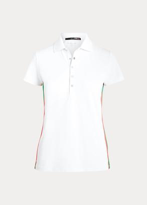 Ralph Lauren Striped-Trim Golf Polo Shirt