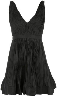 Alexis Marilou crinkled A-line dress