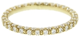 Finn Three Row Pave Diamond Ring - Yellow Gold