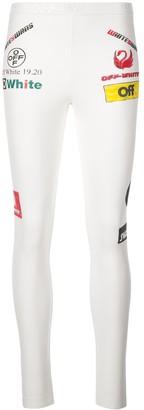 Off-White Printed Logos Leggings