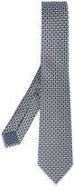 Bulgari elephant print neck tie