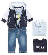 HUGO BOSS Newborns' jeans made from stretch cotton in 5-pocket style: 'J04264'