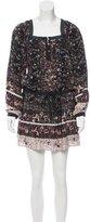 Ulla Johnson Floral Silk Dress w/ Tags
