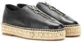 Alexander Wang Devon Leather Espadrille-style Sneakers
