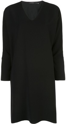 Natori long sleeve shift dress
