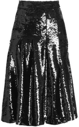 Simone Rocha Pleated Sequin Skirt