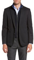 Hart Schaffner Marx Men's Brodericks Modern Fit Blazer With Detachable Knit Bib