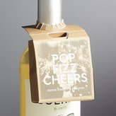 Crate & Barrel Pop Fizz Cheers Bottleneck Mini