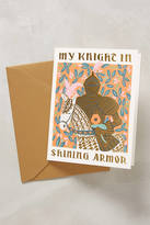 Rifle Paper Co. Knight In Shining Armor Card