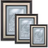 Lawrence Frames Bronze Picture Frame with Brushed Gold Inner Panel
