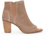 Sole Society Majorca Perforated Bootie perforated peep toe bootie