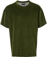 Paura velvet T-shirt - men - Cotton/Polyester - M