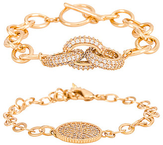 Ettika Charm Bracelet Set