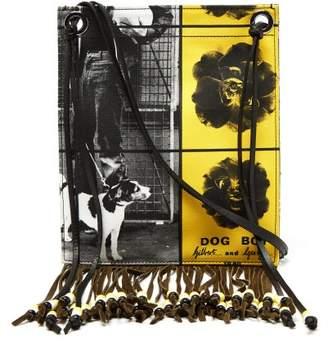 J.W.Anderson X Gilbert & George Print Canvas Bag - Womens - Black Yellow