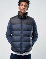 The North Face Nupste 2 Down Gilet In Navy