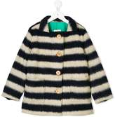 Bobo Choses striped single breasted coat