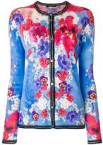 Roberto Cavalli long sleeved floral cardigan