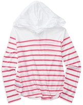 Ralph Lauren Girls' Striped Hoodie - Sizes S-XL