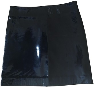 Saint Laurent Black Patent leather Skirts