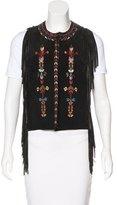 Isabel Marant Leather Embellished Vest
