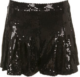 Sequin Skirt Shorts