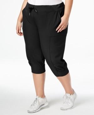 Calvin Klein Plus Size Seamed Cuffed Joggers