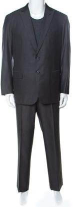 Brioni Grey Wool and Silk NM Estense Suit XXL