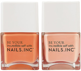 Nails Inc NAILS.INC Kiss My Peach Duo