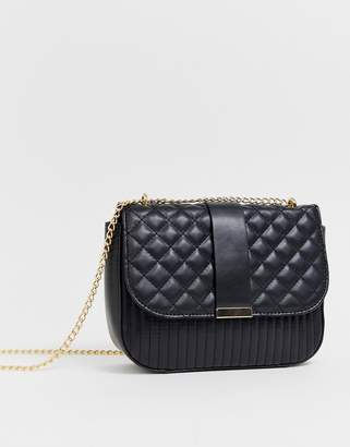 Asos Design DESIGN quilted cross body bag