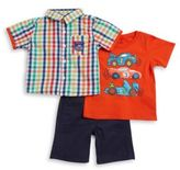 Nannette Three-Piece Shirt, Tee and Pants Set