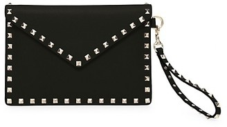 Valentino Medium Rockstud Leather Pouch